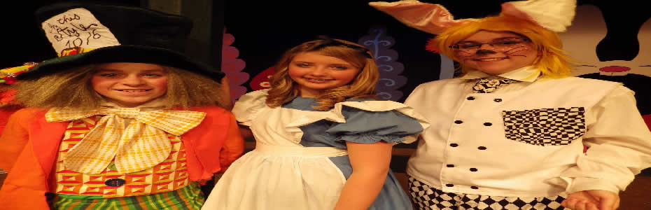 NOW PLAYING - Alice In Wonderland, Jr.  11/18-11/20, 11/25-11/27, 12/2-12/4 and 12/9-12/11